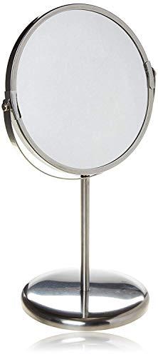 IKEA Trensum Kosmetikspiegel, doppelseitig, mit Vergrößerung, Edelstahlrahmen