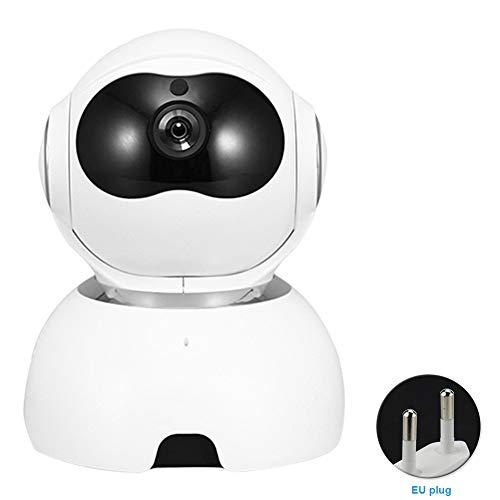 Cámara de Monitor de bebé 1080P FHD, cámara de Seguridad para el hogar inalámbrica para bebé/Mascota/niñera, visión Nocturna, detección de Movimiento, Audio de 2 vías, rotación Inteligente