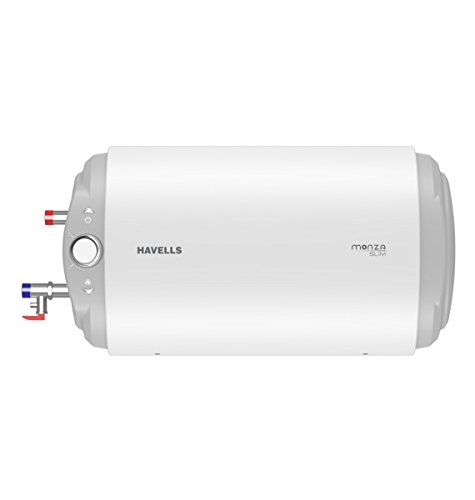 Havells Monza Slim SM HL 15-Litre Storage Heater (White)