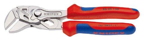 "Knipex - 8605150 6"" Mini Pliers Wrench, Ergonomic Grip"