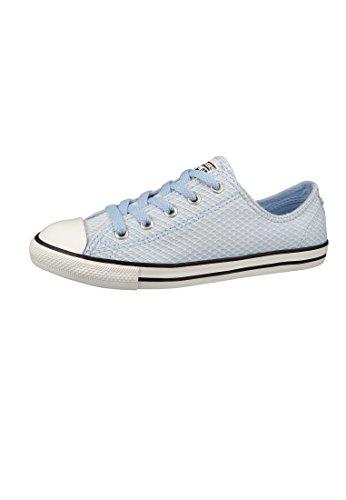 Converse Damen Chuck Taylor CTAS Dainty Ox Textile Fitnessschuhe, Blau (Blue Chill/White/Black 457), 39 EU