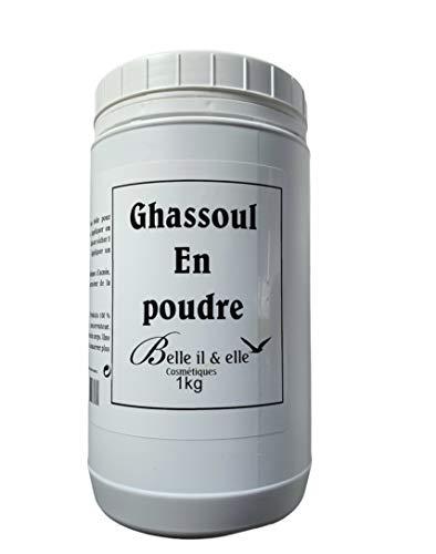 Aromaroc Ghassoul en Poudre 100% Pur/Naturel Importé du Maroc