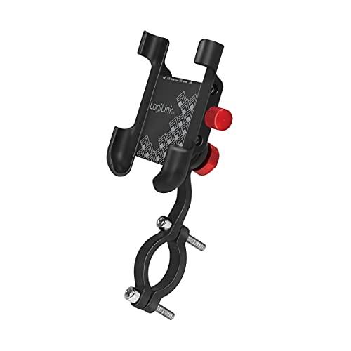 LogiLink AA0148 - Soporte de teléfono móvil para Bicicleta, para Smartphones de 3,5 a 7 Pulgadas