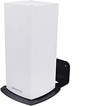 Linksys Velop WiFi 6 Mesh Router Wall Mount Bracket Wall Mount Stand Holder,WiFi Accessories for Linksys Velop WiFi 6 MX5 with Easy Installation and Space Saving  1-Pack