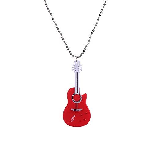BJMLHGQ Halskette Rote Bild