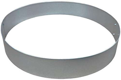 Rasenkanten Baumring Kreis aus Metall durchm. 75 cm x 12 cm - 1er Set