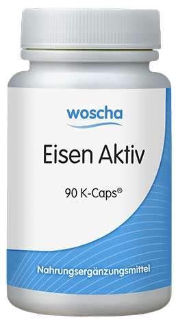 Woscha Eisen Aktiv, 90 K-Caps