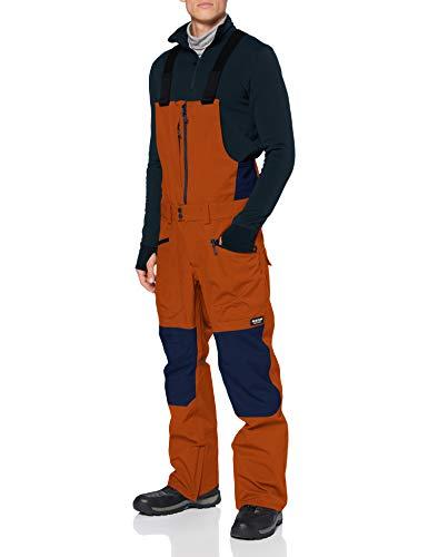 Burton Reserve Bib Pantalon de Snowboard, Hombre, True Penny, XS