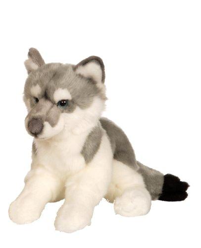 Gipsy–054692–Wolf ausgestreckt, 30cm–grau