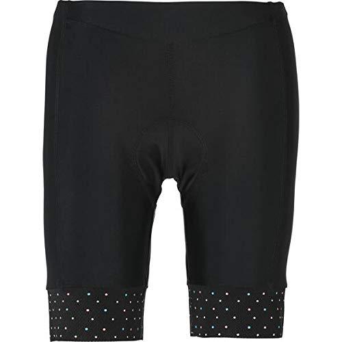Nakamura - Radsport-3/4-Hosen für Damen in BLACK/AOP DOTS, Größe 38