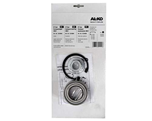 FKaanhangeronderdelen 1 x ALKO - Wiellager 1224804 lager 72/39x37 mm + wielmoer + zekering