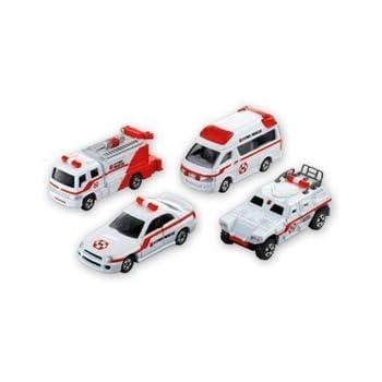 トミカ ハイパーレスキュー救急車両セット