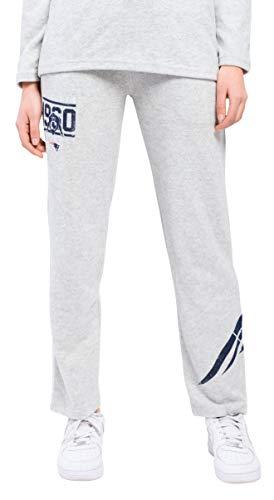 NFL New England Patriots Damen Joggerhose Punt Brushed Hacci Sweatpants, Größe M, Grau