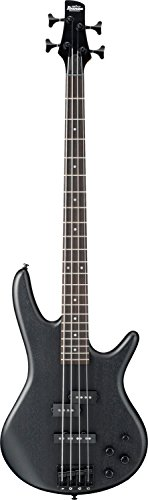 Ibanez 4 String Bass Guitar, Right Handed, Weathered Black (GSR200BWK)