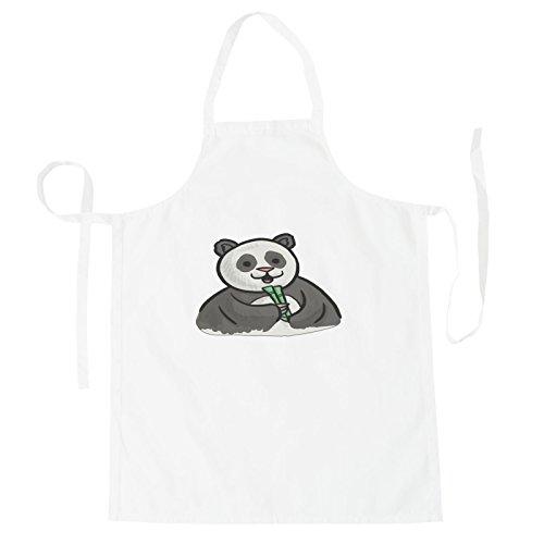 INNOGLEN Panda Smile Lustig Schürze o954b