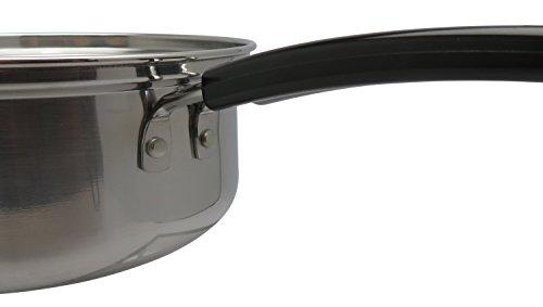 和平フレイズ片手鍋煮物茹で物ヴェンセ14cmガラス蓋付IH対応ステンレスVR-8178