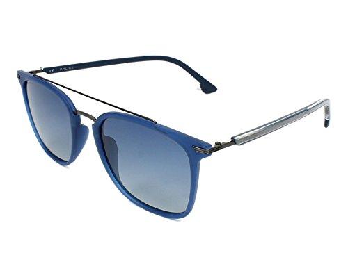 Police SPL583-TA5B Gafas, azul - gun metal, 54/21/145 Unisex Adulto
