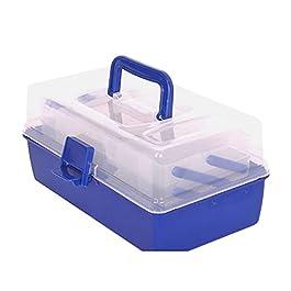 Boîte À Outils Multi Calques Boîte à outils Boîte de pêche Hardware Réparation de voitures Cas de stockage de ménage Cas…