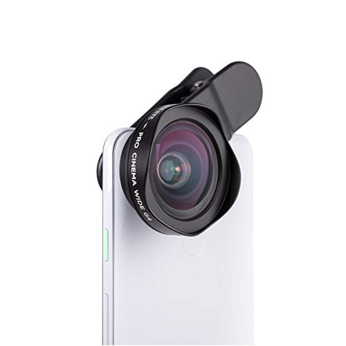 Phone Lenses by Black Eye || Pro Cinema Wide G4 Phone Camera Lens Compatible with iPhone, iPad, Samsung Galaxy, and All Camera Phone Models
