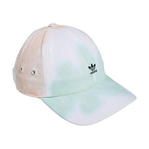 adidas Originals Women's Mini Logo Relaxed Adjustable Cap, Pastel Wash, One Size