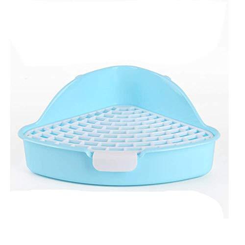 RUBYHOME Triangle Potty Trainer Corner Litter Bedding Box Pet Pan for Baby Rabbit, Chinchillas,...