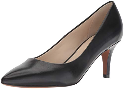 Cole Haan Women's Harlow Pump (65MM), Black Leather, 7 B US
