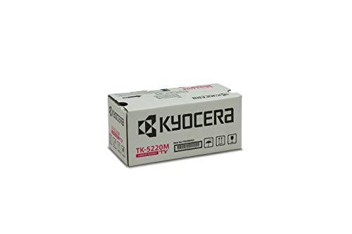 Kyocera TK-5220M Original Toner-Kartusche Magenta 1T02R9BNL1. Für ECOSYS M5521cdn, ECOSYS M5521cdw, ECOSYS P5021cdn, ECOSYS P5021cdw. Amazon Dash Replanishment-Kompatibel