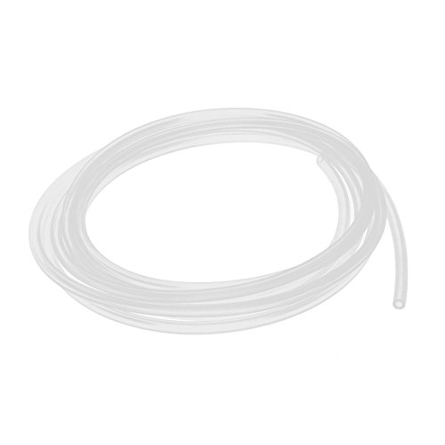 uxcell Silicone Tube 2mm ID x 4mm OD 9.84' Flexible Silicone Rubber Tubing Water Air Hose Pipe Transparent for Pump Transfer