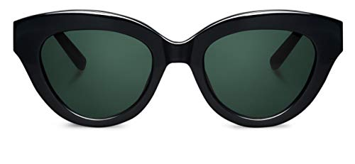 MR. BOHO Gracia Gafas, Black, 49x19x145 Unisex Adulto