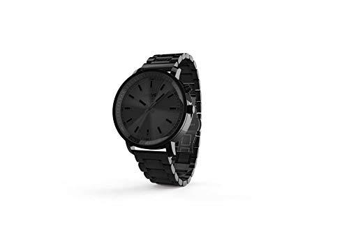 Helvei SYNQ Time Smartwatch con Cinturino in Metallo Special Edition - Nero