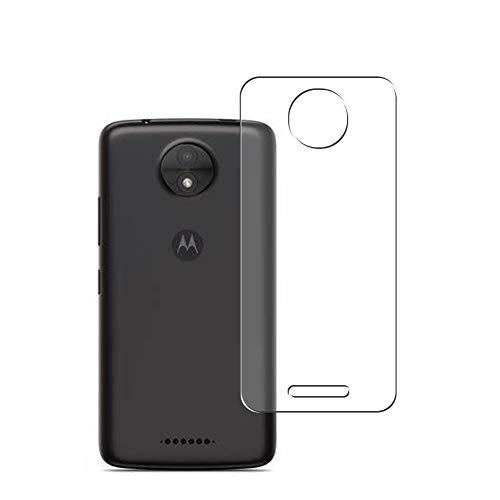 Vaxson 2 Unidades Protector de pantalla Posterior, compatible con Motorola Moto C Plus [No Vidrio Templado] TPU Película Protectora Espalda Skin Cover