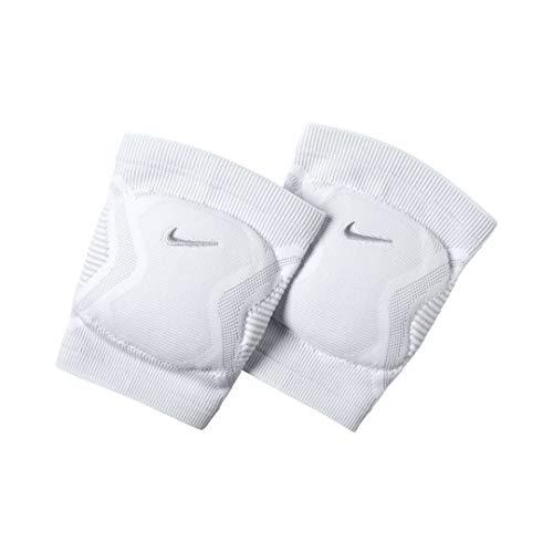 Nike Vapor Volleyball Kneepads, White, Medium/Large