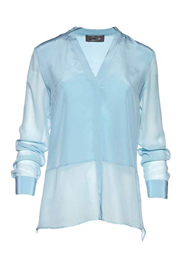 Malvin by Nonstop Bluse, Milky Blue, Gr. 40