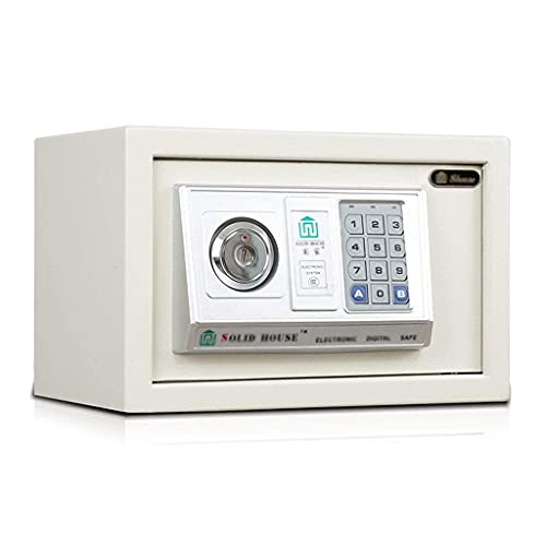 Caja fuerte de seguridad mejorada, cajas fuertes de gabinete, con caja de depósito digital para el hogar con llave, cajas fuertes de gabinete electrónicas, caja de dinero en la pared, caja de dinero m