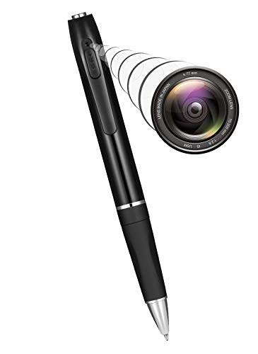 CABLE4U Spy Camera Mini Hidden Camera Pen HD 1080P,Spy Camera Portable Pocket Camera with 32GB SD Card for Business Meetings and Security