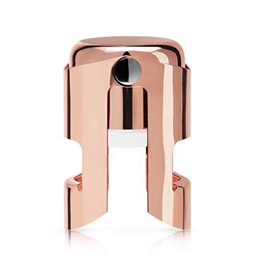 Viski 8173 Summit Copper Champagne Stopper, One Size