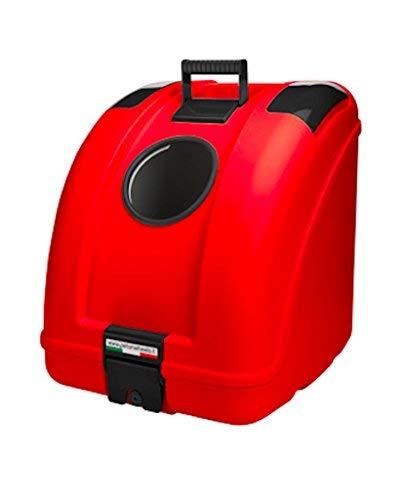 POW Pet Carrier Hundetransportbox für Hunde zur Befestigung auf dem Moped, Motorrad, Fahrrad und geeignet auch für das Auto