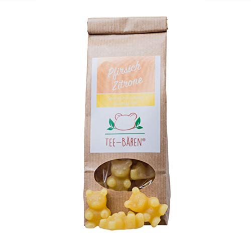 Tee Bären Fruchtgummi zur Herstellung eines Heißgetränks (Pfirsich Zitrone, 100 g)
