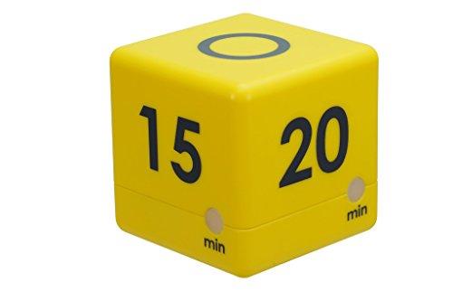 TimeTEX Zeitdauer-Würfel mit 4 Fix-Zeiten - (10/15 / 20/30 Minuten) mit Ablauf-Signal - 61966
