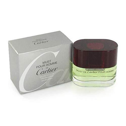 Must De Cartier Pour Homme Cologne for Men 3.4 oz Eau De Toilette Spray