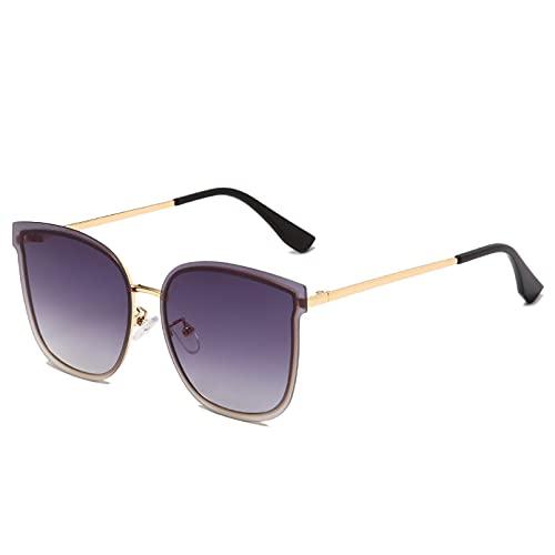 LUOXUEFEI Gafas De Sol Gafas De Sol Sin Montura De Gran Tamaño Gafas De Sol Para Mujer Gafas