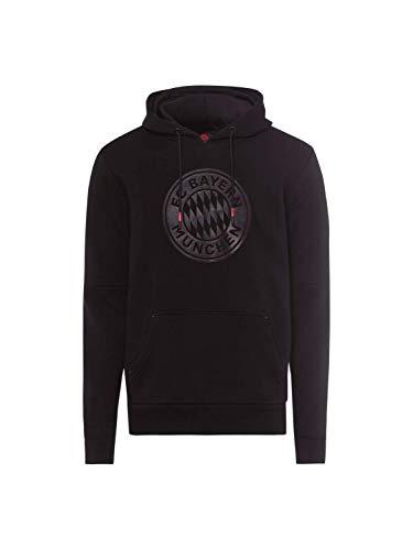 FC Bayern München Hoodie Black & Red schwarz, S