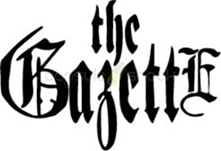"""5"""" The Gazette Vinyl Decal Sticker"""