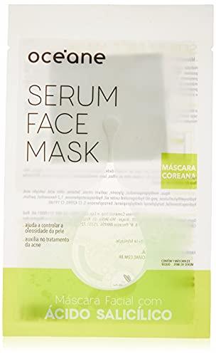 Máscara Facial Ácido Salicílico, Serum Face Mask, Océane
