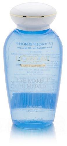 Gentle Eye Makeup Remover, L'Oreal Paris Dermo-Expertise Oil-Free Eye Makeup Remover, 4 fl. oz.