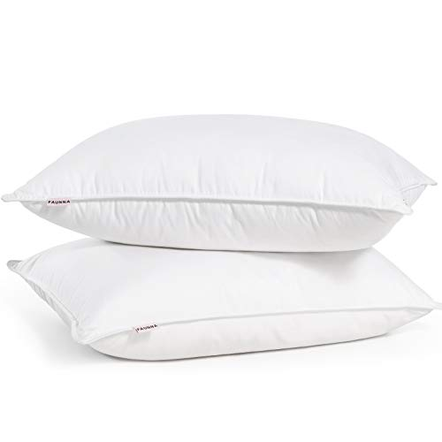 Pillows for Sleeping - Down Alternative Filling - King Size - 2 Pack - Hotel Bed Pillow Set of 2 - Premium Luxury Cooling Gel Pillows for Back & Side Sleepers