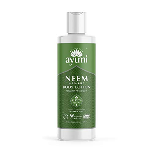 Ayumi Neem & Tea Tree Face Wash. Vegan, Cruelty-Free, Dermatologically-Tested, 1 x 150ml