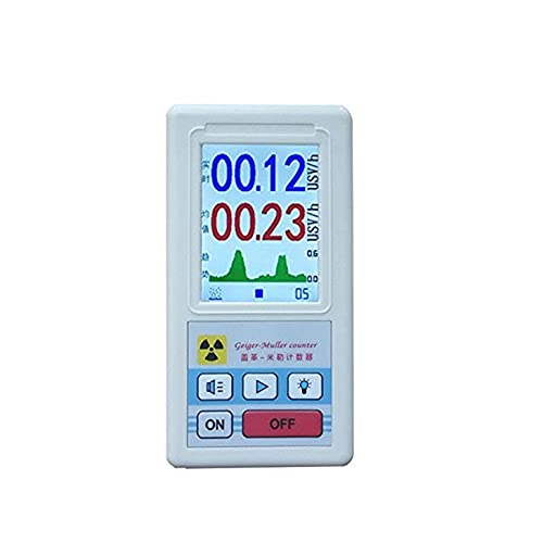 Geiger Counter Nuclear Radiation Detector, Beta Gamma X-ray Tester, Radioactive Detector, Personal Dosimeter Marble Detector Meter Portable Dosimeter