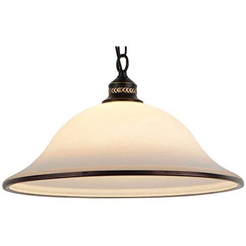 SFRIDQ Moderno Hierro Forjado Colgando araña Creativa Cabeza de Cristal lámpara de Techo para Comedor, Sala de Estar y decoración de Dormitorio iluminación E27