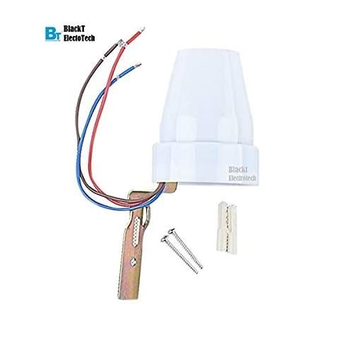 Blackt Electrotech Day Nights Auto On And Off Photocell Ldr Switch For 18 Months Assurance Home Automation White Copper Amazon In Home Improvement